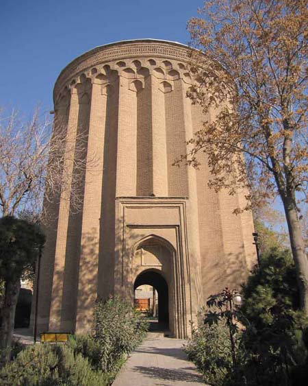 برج طغرل شهر ری tughrul tower rey