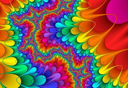 تصویر پس زمینه رنگارنگ انتزاعی abstract colorfull wallpaper