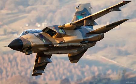 پرواز جت جنگنده تورنادو aircraft military gr4