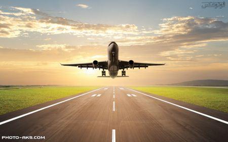 اوج گرفتن هواپیمای مسافربری airplane take off