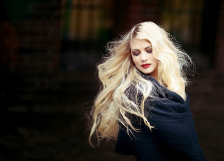 عکس دختر مو بلوند زیبا aks dokhtar mo blond
