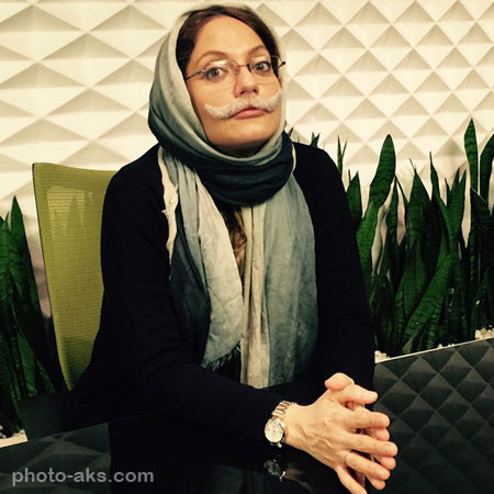 گریم جالب مهناز افشار aks jaleb mahnaz afshar