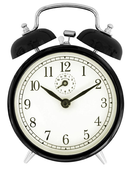 ساعت زنگ دار قدیمی alarm clock