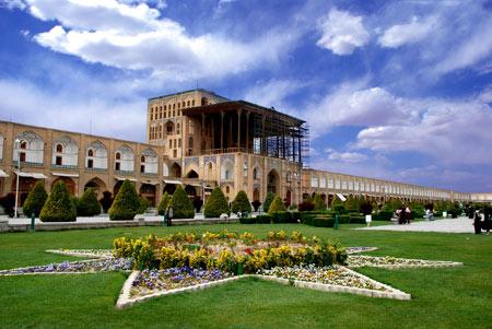 کاخ عالی قاپو اصفهان alighapoo esfahan