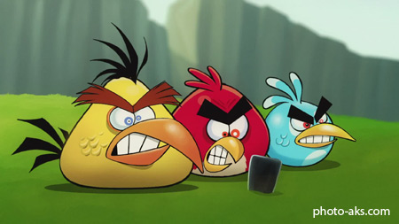 بازی پرندگان خشمگین angry birds game