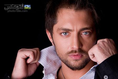 عکس نمای نزدیک بهرام رادان close up iranian actors