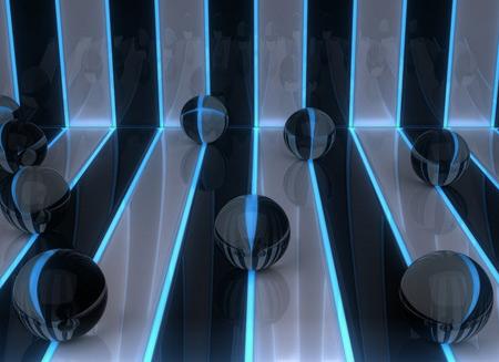 عکس گوی های شیشه ای ball line pattern