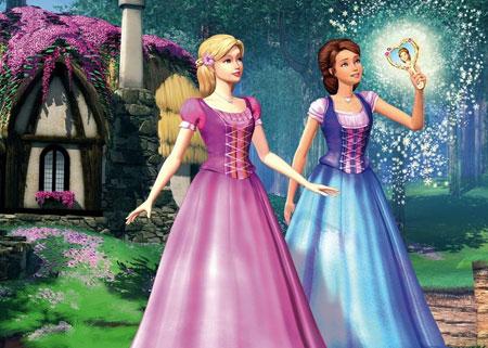 پوستر کارتون باربی در قصر الماس barbie diamond castle