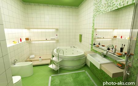 دکور حمام و سرویس بهداشتی bathroom desigen