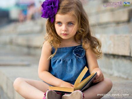 دختر بچه ناز خارجی Beautiful little kid
