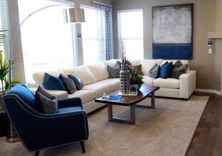 دکوراسیون حال پذیرایی آپارتمان aparteman decoration