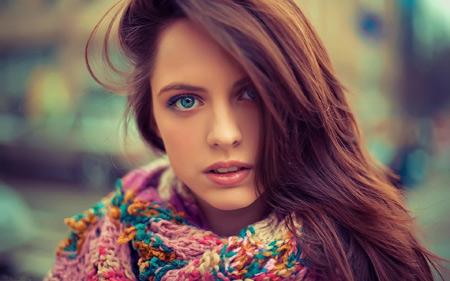زیباترین دختران چشم رنگی beauty girl color eyes