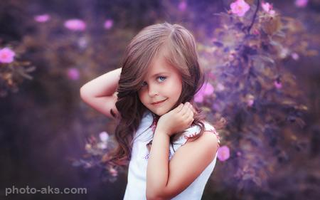 عکس دختر بچه های خوشگل خارجی beauty girl kids