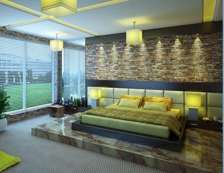 دکوراسیون اتاق خواب لوکس مدرن luxury modern bedroom