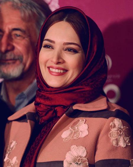 لبخند زیبای بهنوش طباطبایی بازیگر labkhand ziba bazigar zan