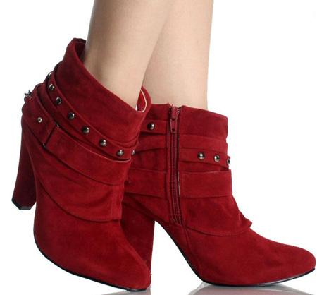 نیم بوت شیک دخترانه 2017 short boots for firls