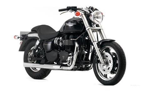 عکس موتورسیکلت تریومف bullet bike triumph