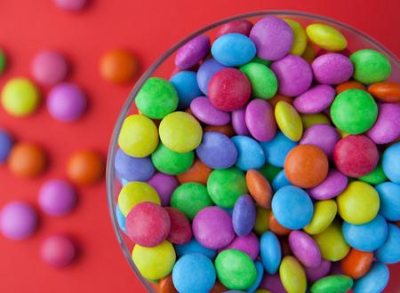 پوستر اسمارتیز های رنگی خوشگل colorful candy bowl