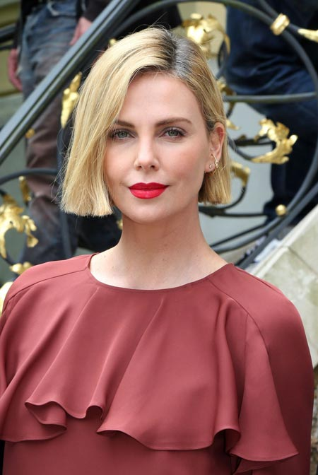 شارلیز ترون لایف بال charlize theron life ball