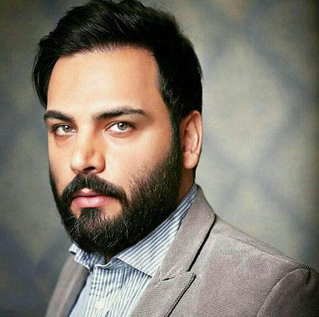 چهره احسان علیخانی با ریش chehreh ehsan alikhani