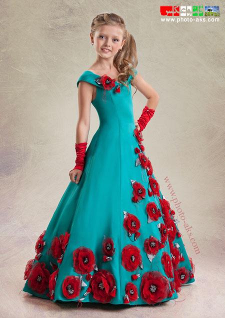 جدیدترین و زیباترین مدل های لباس 92 children prom dress