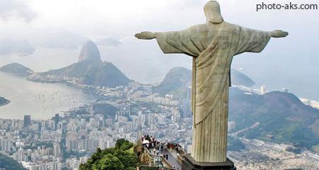 مجسمه مسیح منجی در برزیل chirst the redeemer