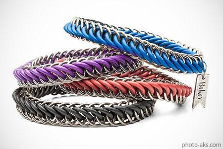 دستبند رنگی اسپرت مردانه color bracelets men