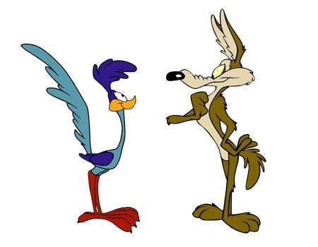 کارتون میگ میگ یا کایوت و رودرانر coyote and roadrunner