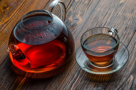 عکس قوری و استکان چای cup tea picture