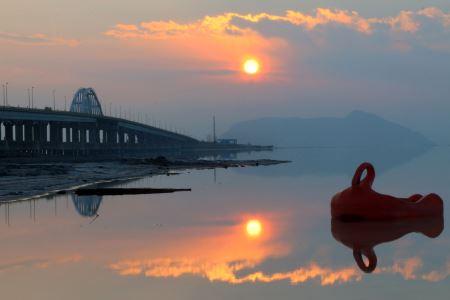 عکس دریاچه نمک ارومیه daryache oromiye