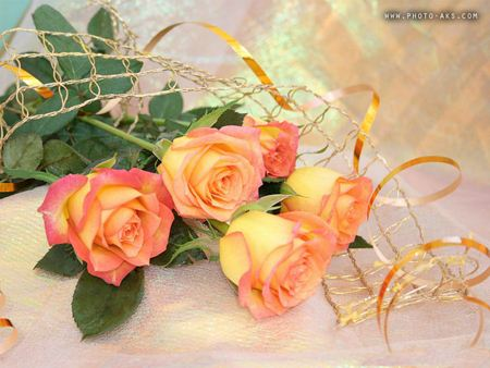 دسته گل رز عروسی dasteh gole roze