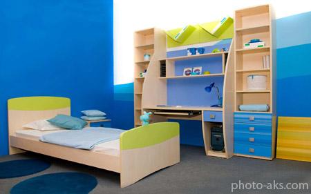 دکوراسیون باحال اتاق خواب پسرانه decoration boys bedroom
