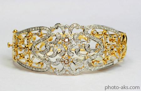 دستبند بسیار زیبای پرنسسی prince diamond bracelet