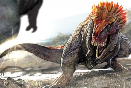 عکس نبرد دایناسورها dinosaur fight