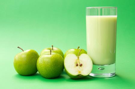 عکس آب میوه سیب سبز drink apple green