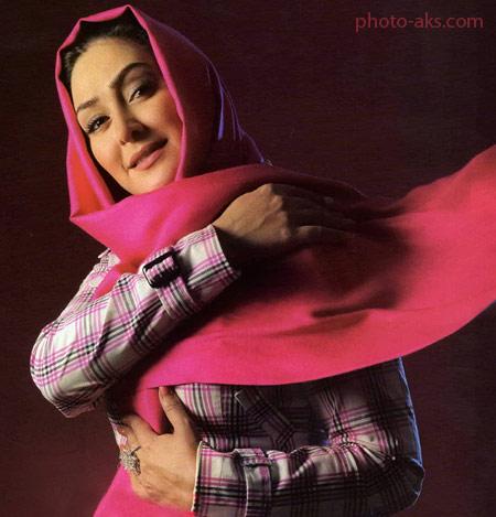 عکس روی جلد مجله الهام حمیدی elham hamidi makeup
