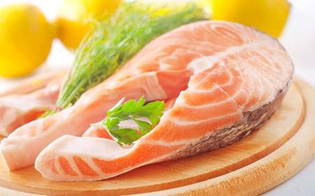 عکس گوشت ماهی غذای مقوی fish food wallpaper