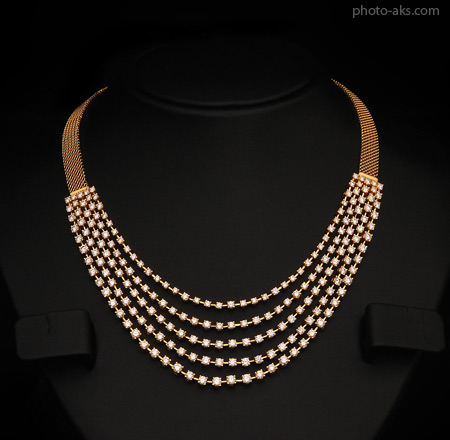 گردنبند طلا golden neckleace