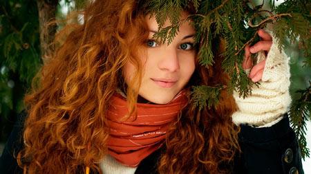چهره زیبا دختر مو طلایی girl face hair eyes