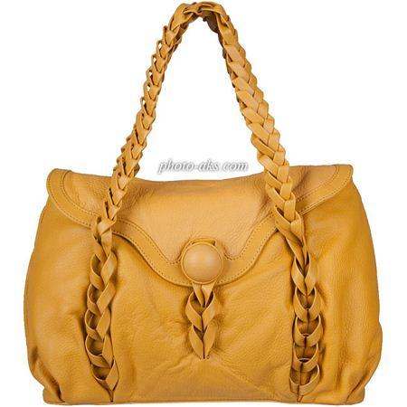 کیف زرد زنانه yellow girl handbag