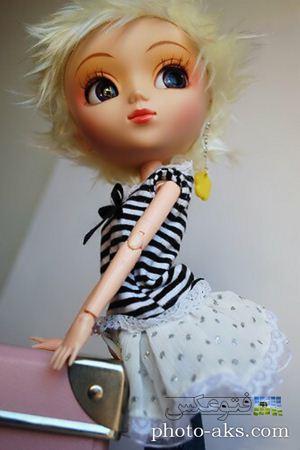 عروسک ناز دخترانه روز ولنتاین beautiful girl doll