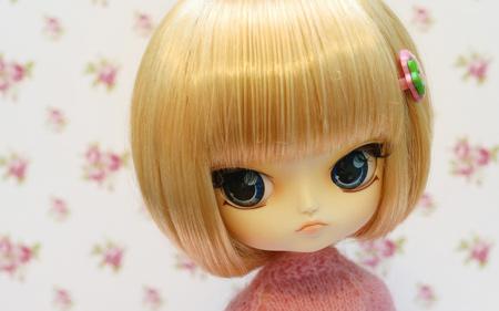 عروسک مو طلایی خارجی golden hair girl doll