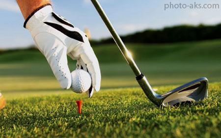 والپیپر ورزش گلف golf ball wallpaper