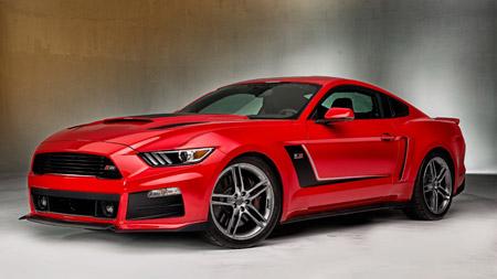عکس ماشین فورد موستانگ red ford mustang car