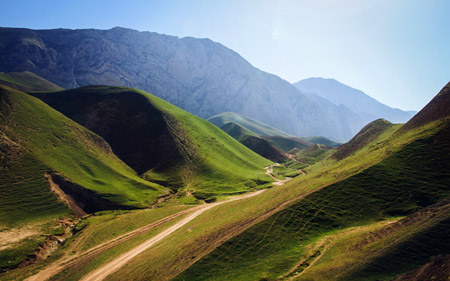 کوهای سرسبز افغانستان green mountains afghanistan