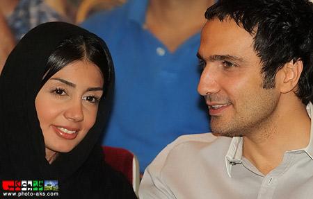 محمدرضا فروتن و همسرش hamsar mohamad reza foroutan