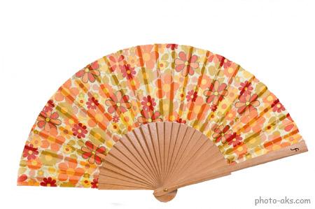 بادبزن دستی ژاپنی hand fan image