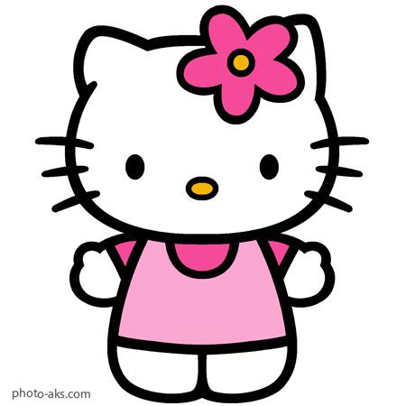 طرح نقاشی کودکانه کارتون کیتی hello kitty cartoon