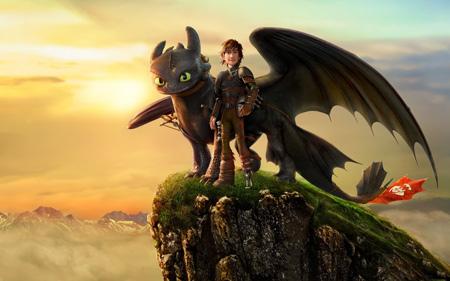 کارتون آموزش اژدها دو how trian dragon