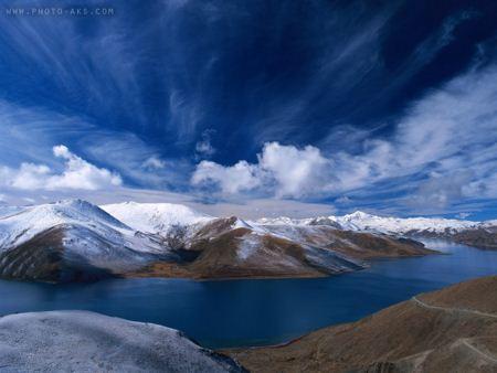 عکس منظره زیبا از کوهستان hq landscape wallpaper
